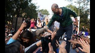 Akshay kumar At Delhi University | Padman Promotion | Full Coverage | Padman full movie