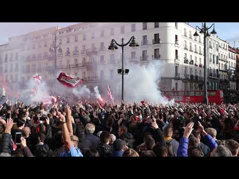 Entrada Ajax in Madrid - Mijn Stad
