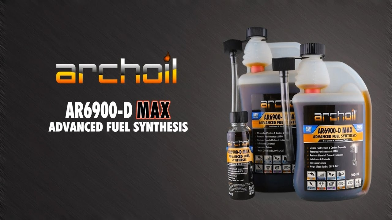 Archoil AR6900-D Max Advanced Diesel Fuel Synthesis