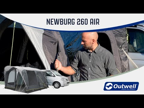 Outwell Newburg 260 Air - Inflatable Drive Away Air Awning (2020) | Innovative Family Camping