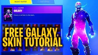 "Comment obtenir ""GALAXY SKIN GRATUIT"" -STILL WORKS ' - Fortnite Battle Royale"