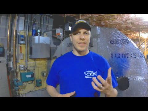 #7 - How and Why We Heat With Wood - Indoor Gasification  Wood Boiler - Part 1