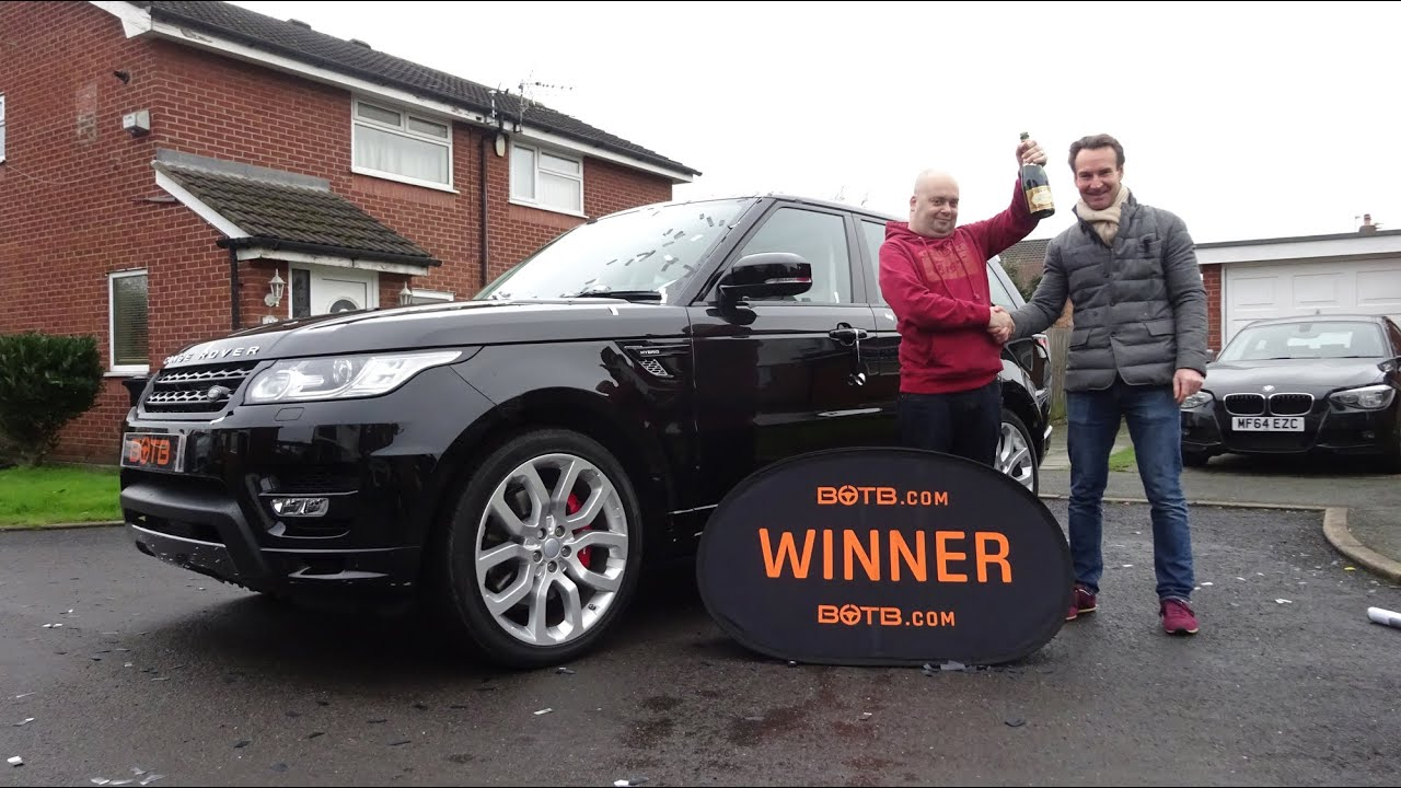 Winner Week 2 2016 Range Rover Sport