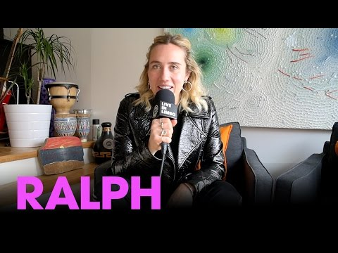 RALPH talks about her self-titled debut album and being a visual artist - Toronto interview, 2017