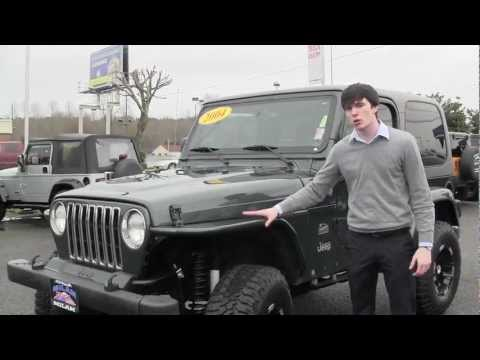 Virtual Tour of a 2004 Jeep Wrangler Sahara at Milam Auto & Milam Truck Country in Puyallup