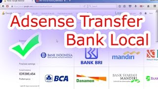 Baru, Tutorial Verifikasi Tarik Saldo Adsense via Transfer Bank Local
