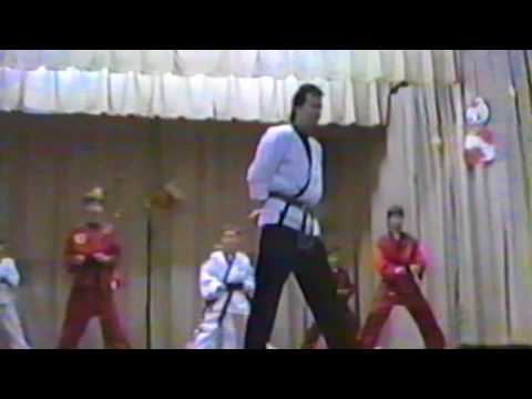 Greenhill Elementary School PTO Demo 1995 Ray Rice Karate Opening Scene