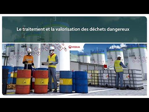 Le traitement et la valorisation des déchets dangereux | Veolia