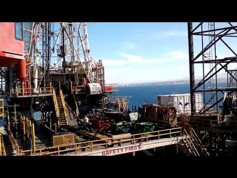 Awesome offshore Jackup rig from inside like 5 stars hotel