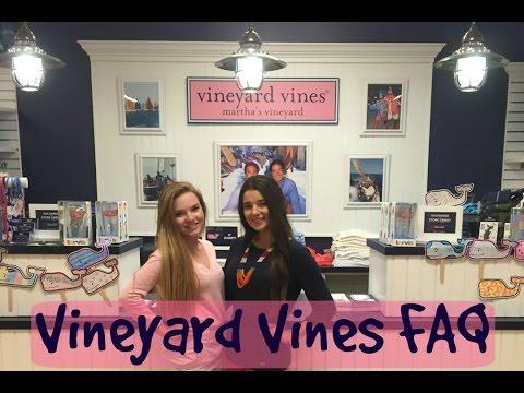 Working at Vineyard Vines FAQ ft SJ
