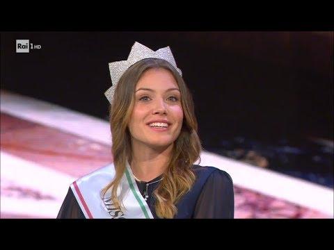 Miss Italia 2017, Alice Rachele Arlanch - Che tempo che fa 24/09/2017