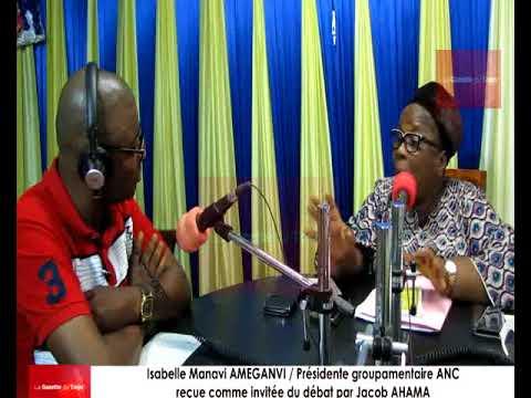 Me Isabelle AMEGANVI reçue comme invitée du débat par Jacob AHAMA sur Victoire Fm