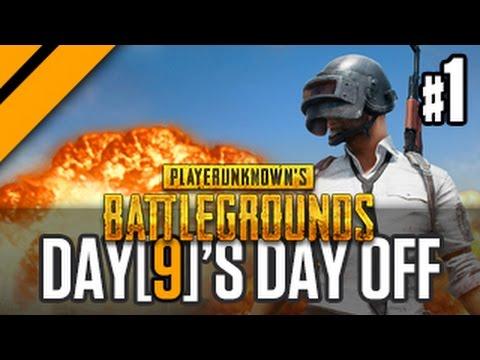 Day[9]'s Day Off - Playerunknown's Battlegrounds w/ JP & Sacriel! P1