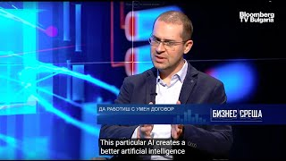 How Comrade will enable DAOs and Autonomous AI - Bloomberg TV - Interview with Todor Kolev