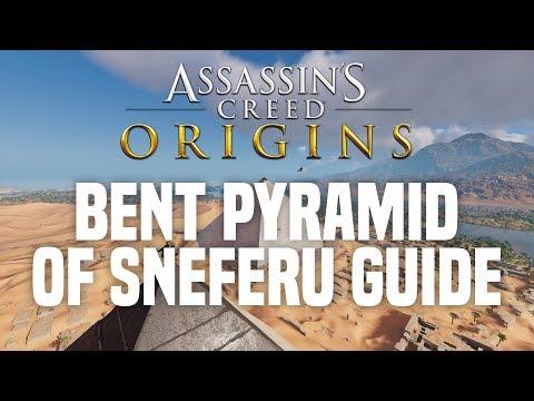 Assassins creed Origins - how to enter the bent pyramid of Sneferu