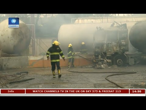 Aftermath Of Lagos Gas Explosion |Eyewitness Report|
