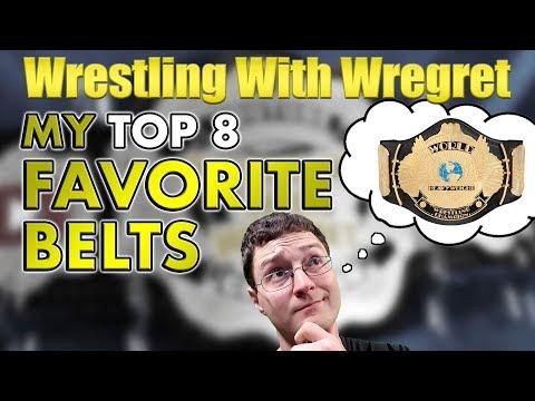 My Top 8 Favorite Championship Belt Designs | Wrestling With Wregret