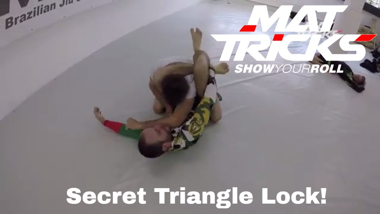 How to Lock a Triangle Choke from Everywhere to make it Stronger and avoid Escaping
