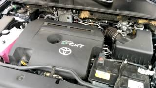 Toyota Rav4 2010 2.2 D-CAT engine start