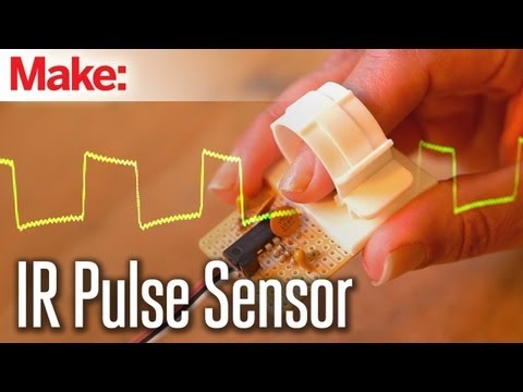 Weekend Projects - Infrared Pulse Sensor