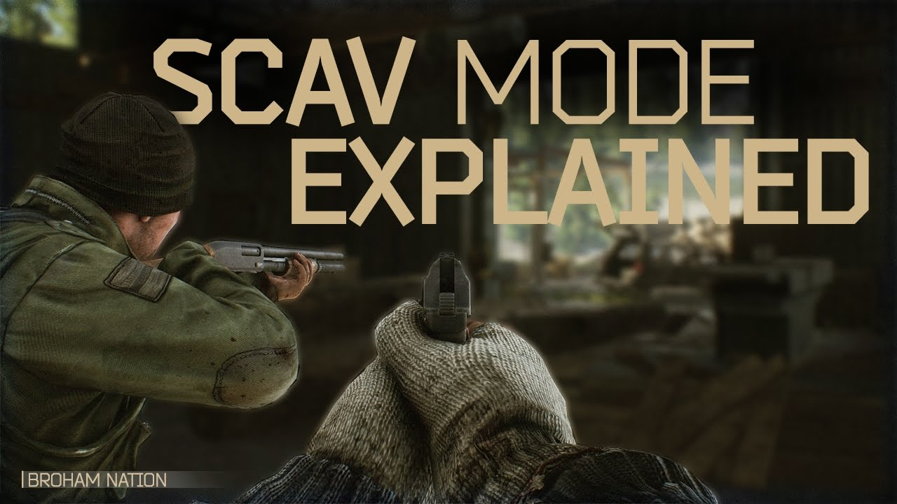 escape from tarkov scav