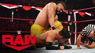 Akira Tozawa vs. Andrade: Raw, Nov. 25, 2019