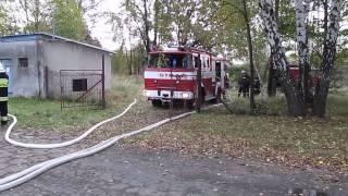 Czechowice-Dziedzice: Pożar w fabryce zapałek