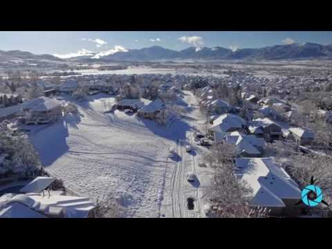 Record-Breaking Snow: Rogue Valley Aerial   Southern Oregon Drone