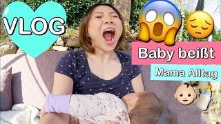 Baby beißt beim STILLEN 😖 Mama Alltag | Haushalt machen | Wickeltisch Update | Mamiseelen