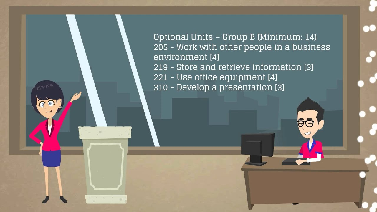 nvq level 2 business admin unit
