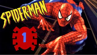 My First Video Game | Spider-Man (Playstation Classic) - Part 1 / Видео