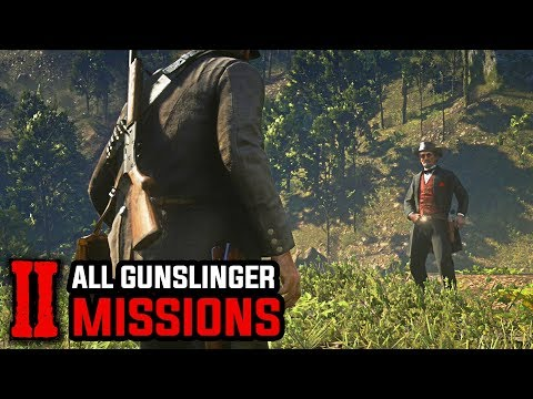 All Gunslinger Missions and Duels (The Noblest of Men, And A Woman) - Red Dead Redemption 2