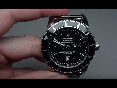 watches colors superocean ii steel link with bracelet blog angled their breitling famous
