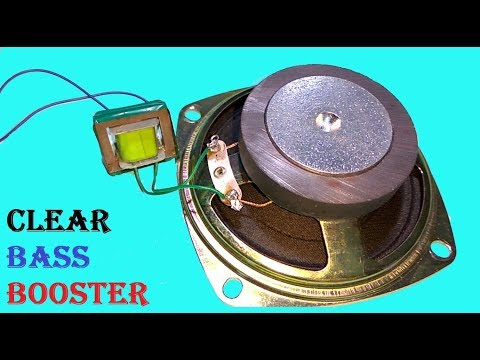 Haw to Make Speaker Louder and Clear Bass booster