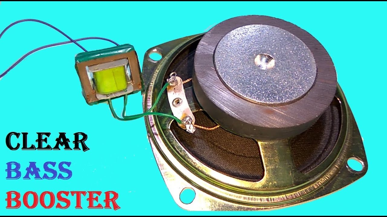 How to Make Speaker Louder and Clear Bass booster