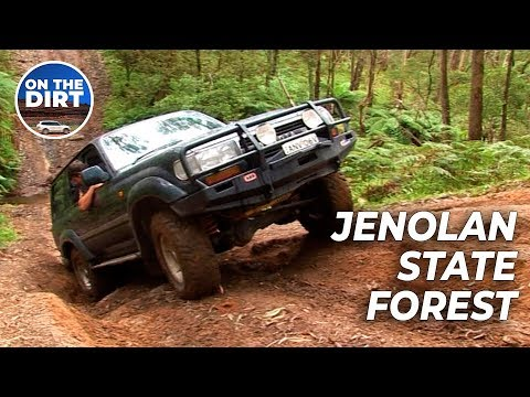 4WD trip to Jenolan State Forest - 4x4 Action - REMASTERED in HD