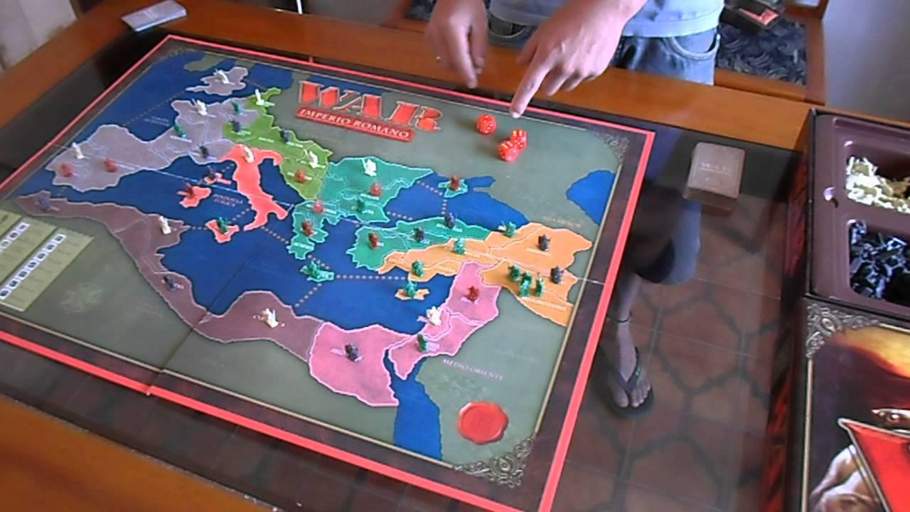 Como Jogar War Imperio Romano Cda Youtube