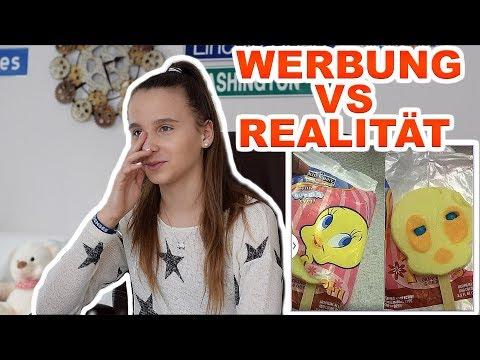 Werbung vs Realität , krass schockierend - Celina