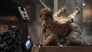 Go Behind The Scenes On THE MUMMY + Movie Clips