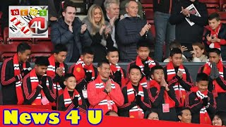 Thai cave boys watch Manchester United win