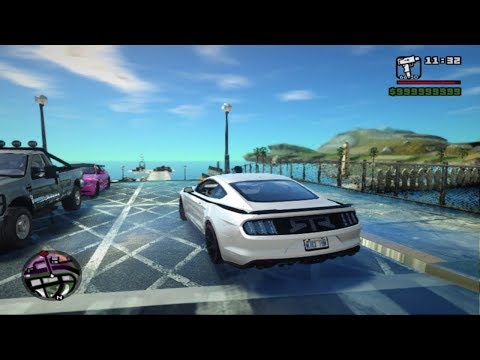 GTA San Andreas | How To Install SA DirectX 2.0 | Complete Car Pack | Ultra Realistic Graphics Mod