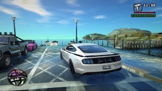 GTA San Andreas   How to install SA DirectX 2.0   Complete Car Pack   Ultra Realistic Graphics Mod