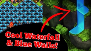 Clash Of Clans - 5 Years Ago Vs Now! Waterfall feature, Blue walls & More!
