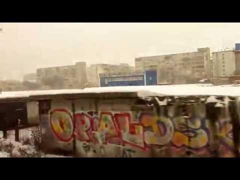 Тюмень-Войновка СВРД ЖД.Поезд Москва-Кемерово.