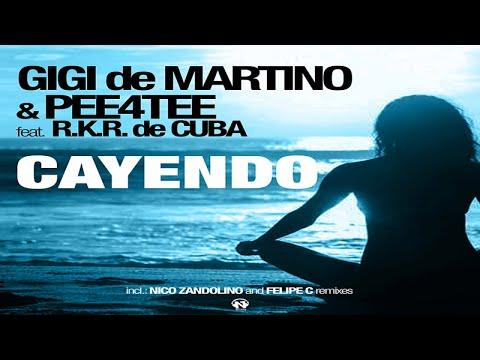 Gigi de Martino & Pee4Tee feat R.K.R. de Cuba - Cayendo (Radio Edit - Teaser)
