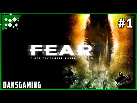 Let's play F.E.A.R. 1 (Part 1) - Dansgaming - PC Gameplay