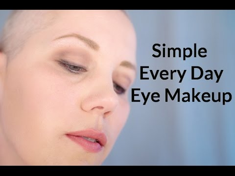einfaches augen make up f r jeden tag simple every day eye makeup youtube. Black Bedroom Furniture Sets. Home Design Ideas