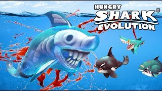 NEW GHOST SHARK! | Hungry Shark Evolution Update | Hungry Shark Evolution Part 42