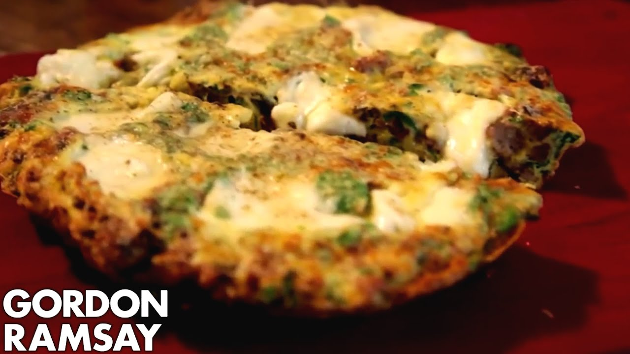 how-to-make-fennel-sausage-frittata-gordon-ramsay