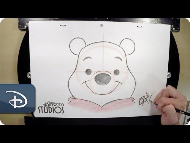【ディズニーキャラクター】誰でも簡単にくまのプーさんが描けちゃう!